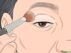 How to Apply Eye Makeup (for Women Over Once you reach the age of your skincare needs change. Mature skin tends to be dry, and fine lines and wrinkles may make it seem difficult to apply flawless makeup, especially around the. Makeup For 50 Year Old, Makeup Tips For Older Women, Makeup Over 50, Applying Eye Makeup, Eye Makeup Tips, Skin Makeup, Easy Makeup, How To Apply Eyeliner, How To Apply Makeup
