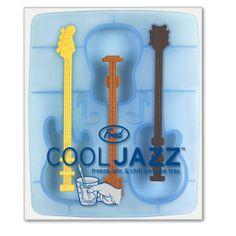 Cool Jazz: Met de Cool Jazz roerstaaf ijsklontjes smaakt jouw drankje als muziek in de mond.