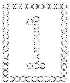 Pon Pon Yapıştırma Sayı Çalışması - Okul Öncesi Etkinlik Faaliyetleri - Madamteacher.com