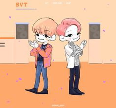 Seventeen || Art || Jeonghan || Joshua