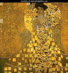 Gustav Klimt Portrait of Adele Bloch (gold foil) painting for sale - Gustav Klimt Portrait of Adele Bloch (gold foil) is handmade art reproduction; You can buy Gustav Klimt Portrait of Adele Bloch (gold foil) painting on canvas or frame. Art Klimt, Most Expensive Painting, Famous Art Pieces, Woman In Gold, Ouvrages D'art, Art Graphique, Famous Artists, Oeuvre D'art, Art History