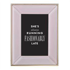 "Kate Spade New York® FRAME – Pink, 4"" x 6"""