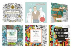 21 of the best coloring books for adults and even older kids. Because coloring rocks.