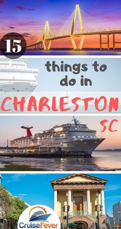 Looking for things to do in Charleston, SC?  If you're going on a cruise out of Port of Charleston you can find this list helpful for some of the best things to do before or after your cruise vacation. #cruisefever #charleston #charlestoncruise #charlestonthingstodo #thingstodo #portofcharleston