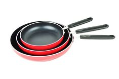 Maxware PFOA Free Nonstick 8-Inch 9.5-Inch 11-Inch Fry Pan Cookware Set, 3-Piece, Red >>> Unbelievable  item right here! : All Pans for Cooking