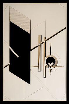 """""""Thanks László"""". Inspired by A IX, by László Moholy-Nagy. Photo by Audrey Penven."""