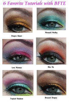 6 Amazing BFTE Cosmetics Tutorials via @Phyrra Nyx