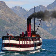 Steam Boat - Queenstown, NZ