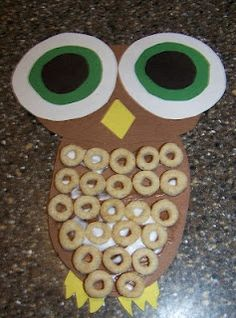 change the color to white  and you have an arctic owl. Repinned by Autism Classroom. Follow us at http://www.pinterest.com/autismclassroom/