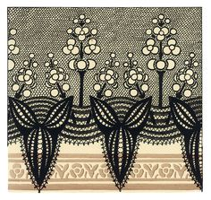 Art Nouveau pattern sds - would make a cool doodle/zentangle