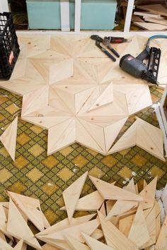 Décoration parquet DIY