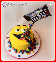 M&Ms gravity cake. M&Ms gravity cake. M&Ms gravity cake. M&Ms gravity cake. Chocolate Birthday Cake Kids, 12th Birthday Cake, Birthday Cakes For Teens, Sweetie Birthday Cake, Mnm Cake, Cupcake Cakes, Cupcakes, Teen Cakes, Cakes For Boys