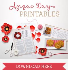 Celebrate Anzac Day with meaningful and educational activities using our free Anzac Day Printables. Great craft activity for kids to learn about Anzac Day.