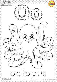 Free Preschool Printables - Alphabet Tracing and Coloring Worksheets for Kids - Tracing Letters (ABC's) for toddlers, preschool, kindergarten and grade, A-Z Coloring Pages - Alphabet Activities and Fine Motor Skills Practice by BonTon TV Free Preschool, Preschool Printables, Preschool Worksheets, Coloring Worksheets, Preschool Kindergarten, Printable Coloring, Childrens Alphabet, Alphabet For Kids, Alphabet Activities