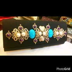 Antique Style Clutches available Price Rs 2500 Free home delivery Cash on delivery  For order contact us on 03122640529