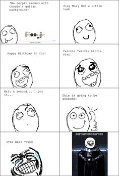 Le Googles Guitar Background - View more rage comics at http://leragecomics.com