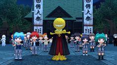 Tercer vídeo promocional de Ansatsu Kyoushitsu: Assassin Ikusei Keikaku!! para 3DS.