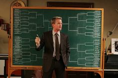 How I Met Your Mother can get pretty hokey, but a Barney episode usually makes it funny.  The brackets episode was some of their best work