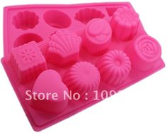 Aliexpress.com : Buy Green Good Quality 100% Food Grade Silicone Cake Mold/Muffin Cupcake Pan Flower molds from Reliable Silicone Cake Mold suppliers on Silicone DIY Mold and  Home Supplies Store $7.19