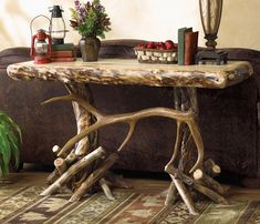 Elk Antler Table