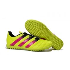 huge discount f7fd4 fab84 Adidas ACE 16.3 TF Mens Football Boot Yellow Red Black