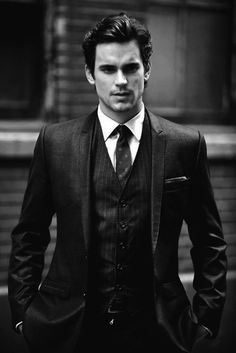 Don't know his name but this man is Christian Grey. Never read the book but I feel like... yes. :)