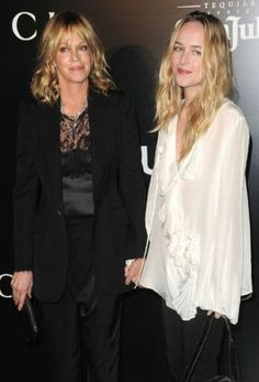 Melanie Griffith and her daughter Dakota Johnson