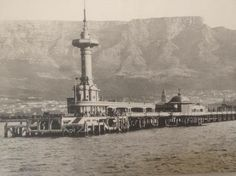 A photo I took of an old photograph of Cape Town circa Unsure of original photographer.