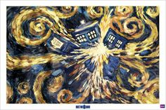 Dr. Who - Exploding Tardis Poster - AllPosters.co.uk