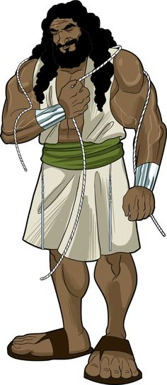 Samson! FREE bible story, lesson plans, and activities.