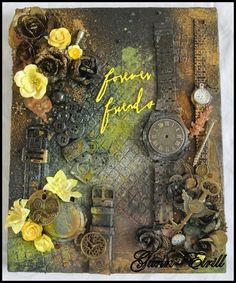 Gunn-Eirill`s Paper Magic: Forever friends/ DT Wild Orchid Craft