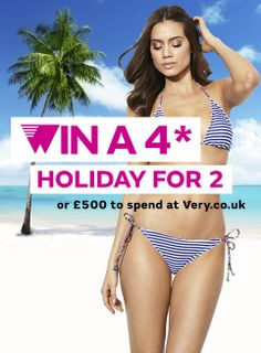 I really want to #win a 4* all-inclusive holiday for 2 or £500 to spend at Very.co.uk! Spin your #SummerStyle if you do too