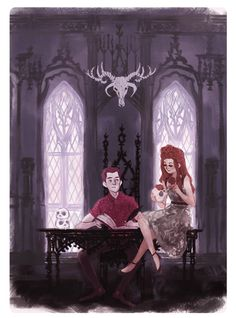 elvishness:  hades never gets any work done while persephone is staying with him