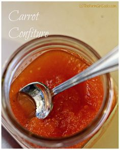 carrot confiture