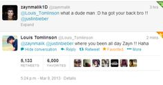 Proof that sometimes Zayn's bandmates don't even know where he is