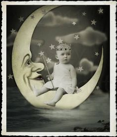 Child on Paper Moon