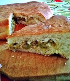 Fior di Vaniglia               : Torta di pane con salsiccia e porri