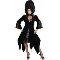 Déguisement Marquise Gothique Deluxe Femme, Costume Gothique, Halloween, bal des vampires, bal costumé, carnaval de Venise, fêtes.