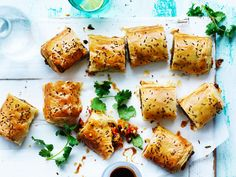 """Put a vegetarian twist on classic sausage rolls by using a hearty and spiced kumara (orange sweet potato) filling, like this recipe from [The Australian Women's Weekly's 'Super Vegetarian' cookbook](https://www.magshop.com.au/the-australian-womens-weekly-super-vegetarian target=""""_blank"""")."""
