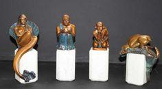 18 Figuren der Edition les Beaux Arts,   Bild Nr.4
