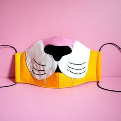 TIGER Face Mask - Anti Dust Mask Anti Pollution Haze Mask - Lion Mouth Cover - Cat Nose Mask - Cute Jungle Animal Cosplay Halloween Mask These handmade face masks / mouth masks are . Tiger Face Mask, Animal Face Mask, Nose Mask, Face Masks, Masque Halloween, Costume Halloween, Rabbit Nose, Bear Mask, Cat Nose