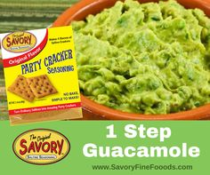 Savor the Flavor! Seasoned Saltine Crackers, How To Make Guacamole, Spice Things Up, Entrees, Spices, Appetizers, Parties, Favorite Recipes, Website