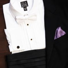 Find debonair details for the special day. Shop Jos. A. Bank formalwear here: http://ow.ly/ZFHDC