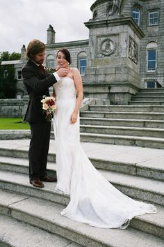 Powerscourt Country House and Gardens is an historic wedding venue set in the romantic Wicklow countryside. One of Ireland's finest wedding venues. Summer Wedding, Our Wedding, Wedding Venues, Wedding Ideas, Beautiful Couple, Wedding Couples, Backdrops, Wedding Photography, Romantic