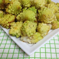 """Roasted Romanesco 