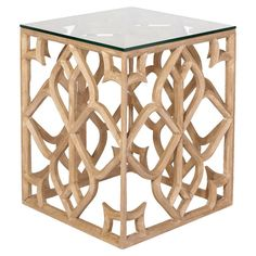 Trifoglio Wooden Side Table #oka #offer #table