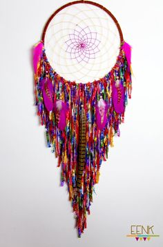 Holy Beautiful. Friendship bracelets into dream catcher
