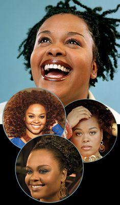 Jill Scott Hairstyles