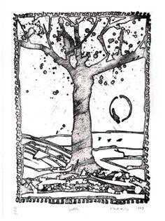 Alechinsky Pierre : Gravure originale  : Delta