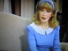 """A scene from Act II of the 1982 TV-Production of """"Plaza Suite"""" starring Lee Grant & Jerry Orbach Jerry Orbach, Plaza Suite, Lee Grant, American Actress, Acting, Ruffle Blouse, Actresses, Women, Fashion"""